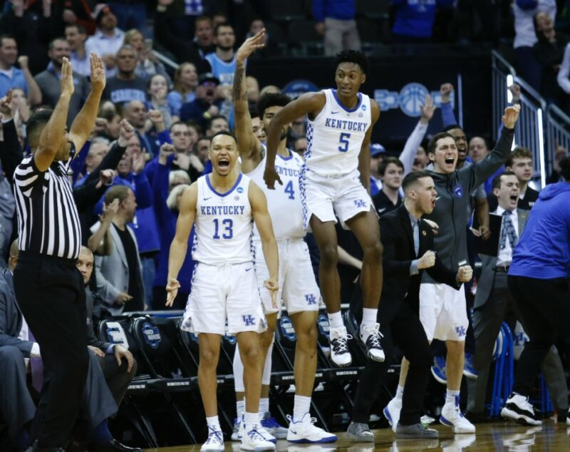 Uk Basketball 2019: Watch: The UK Locker Room Was A Fun Place To Be After Win